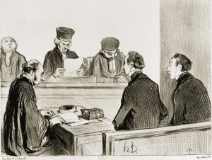 Daumier Justice BNF